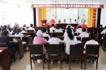 医院召开专题会议传达卫计委党建及党风廉政建设工作会议